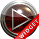 Poweramp Widget Red Glas by Maystarwerk Skins & Widgets Vol.1
