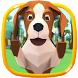 Cute puppy theme wallpaper (3D animation effects) by Dreamy Theme&Wallpaper