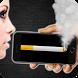 Smoking in phone