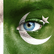 Pakistan face Flag Photo