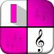 Pink Piano Tiles : Magic Music by Game for Girls