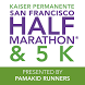 Kaiser Permanente SF Half & 5K by Racemine, LLC.