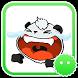 Stickey Lovely Cartoon Panda
