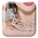 Choker Necklace Stickers by Fun Studio Photo Apps