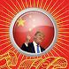 Trump China Button by Bouzebal