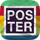 Poster Maker & Flyer Maker App by James Thomas Carter