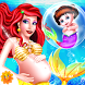 Mermaid New Born Baby