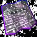 Grey Keyboard Design by Cool emojis themes
