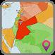 Jordan Map by MAP WORLD Get Info Free