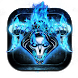Blue Fire Demon by Cool Theme Love