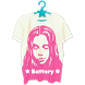 X-girl T-shirt Battery-Free by NOS Inc.