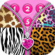 Zipper Lock Screen for Girls by Thalia Photo Corner