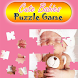 Cute Babies Jigsaw Puzzle Game by kidseducationalapps2016