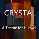 Crystal Dark Theme for Huawei by ASNA Taj