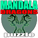 Puzzle Mandala Dragon by Owpoga.com