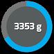 Digital bluetooth Scale S5000 connection test app by Sensodroid Ltd - Digital scale
