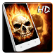 Fire Skulls Live Wallpaper by Keyboard and HD Live Wallpapers