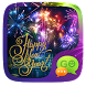 (FREE) GO SMS HAPPY NEW YEAR THEME by ZT.art