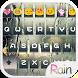 Rain Drops Flat Emoji Keyboard by Colorful Design