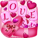 Valentine's Day Love Keyboard by Fashion Corner Apps