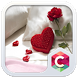 Romantic Love Red Heart Theme by Pop Locker Team - Hide Secret App