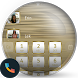 Frame White Gold Dialer Theme by Themes Messages Contacts Dialer by Double L