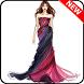 Sketches Design Evening Dress by Arifnurul