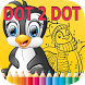 Learn Dot To Dot Coloring Book by Life & Kids Station.