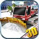 Snow Plow Truck Driver 3D by Bubble Fish Games - Action & Simulator Fun