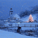 Christmas Tree In Snow LWP by Daksh Apps