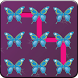 Butterfly Pattern Screen Lock by Appsdebugger