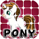 Slide Puzzle Pony by Games and Develop