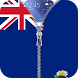 Cayman Islands flag Lockscreen by zipper lock screen