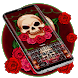 Rose and Skull Keyboard Theme by Cool Themes and art work