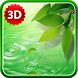 3D Leaves Live Wallpaper by BlackBird Wallpapers