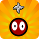 Bouncy Bouncing Shuriken Ball by Run And Gun Free Android Games