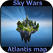 Sky Wars Atlantis map for Minecraft MCPE by The application of your dreams