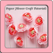 Paper Flower Craft Tutorials by SvenApps