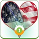 American Flag Wall & Lock by Mobaba Labs