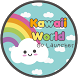 Kawaii World Go Launcher by SaraJ Creations