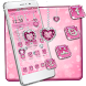 Love Pink heart theme by Luxury Mobile Themes