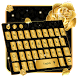 Roses gold keyboard by Keyboard Theme Factory