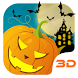 Halloween Pumpkin 3D Theme by Launcher 3D Pro