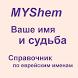 Еврейские имена by MiYa