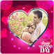 Valentine Day Photo Frames by QuickPopApps