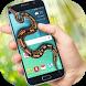 Snake in phone screen hissing Serpent Scary joke by Enjoy4Fun