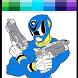 Hero Rangers Coloring book by Beartnessm