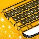 Black and Gold Keyboard by New Keyboard Themes