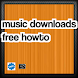 music downloads free howto by morehowtoapp