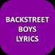 Lyrics of Backstreet Boys by AppDivine